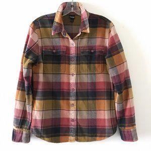 Patagonia Fjord Flannel Shirt, Spectra: Kiln Pink